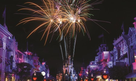 Wishes Main Street - Copyright Disney