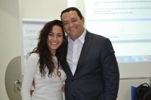 Marília (Facitur) e Lúcio Oliveira