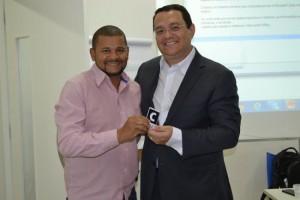 Moisés Ponte e Lúcio Oliveira