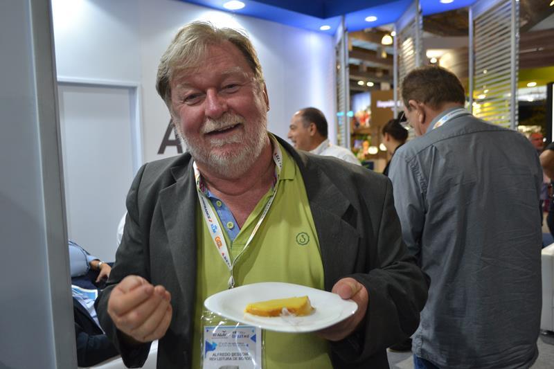 Alfredo durante 45ª ABAV Expo Internacional