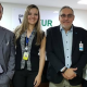 Emerson Mota, da unidade do ITA em Brasília (DF), Suzane Oliveira, supervisora Comercial da Voetur Turismo;  Agnaldo Abrahão, CEO do ITA; e Luci Mota, gerente Nacional do ITA Seguro Viagem