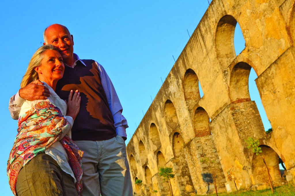 Aqueduto da Amoreira - Elvas - Credito Turismo do Alentejo