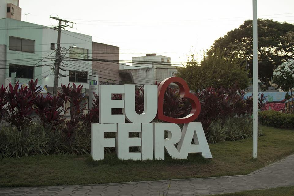 Mapa Turistico  Feira de Santana   Foto Divulgação
