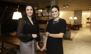 As arquitetas Alessandra Nahas e Vanessa Graner assinam o escritório Go Big Or Go Home  (Foto Tobias Ragonesi)