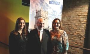 Evento POA - Marcia Amodeo (Abreu) Antonio Lacerta (Turismo do Alentejo) Maria Toscani (Expoente Turismo)