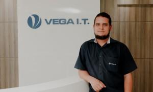 Marcio Oliveira, Coordenador de Suporte Técnico da VEGA I.T.