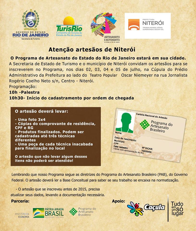 Convite Cadastro Niterói
