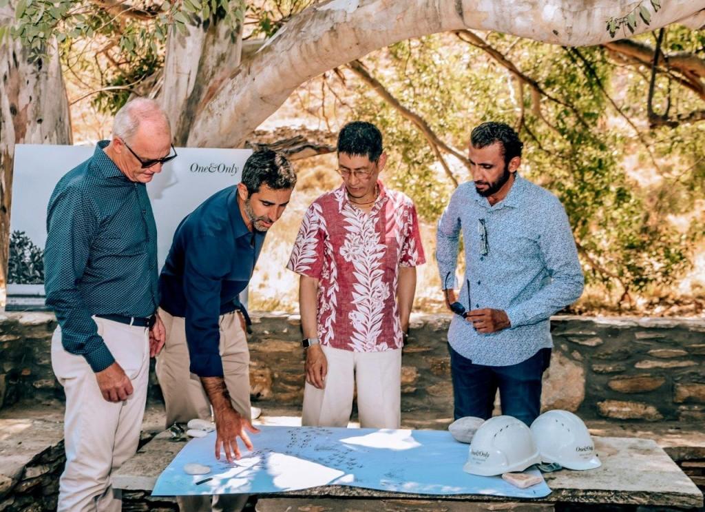 Michael Wale, Miltos Kambourides, John Heah, HE Mohammed Al Shaibani
