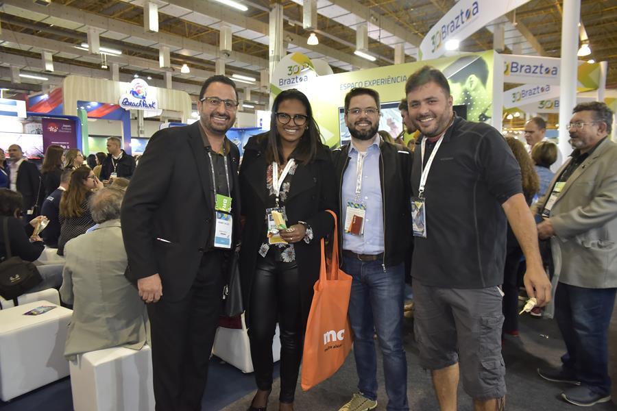 Hugney (ABAV-DF), Neusinha (Convention), Márcio Miranda (AGM) e André Moura