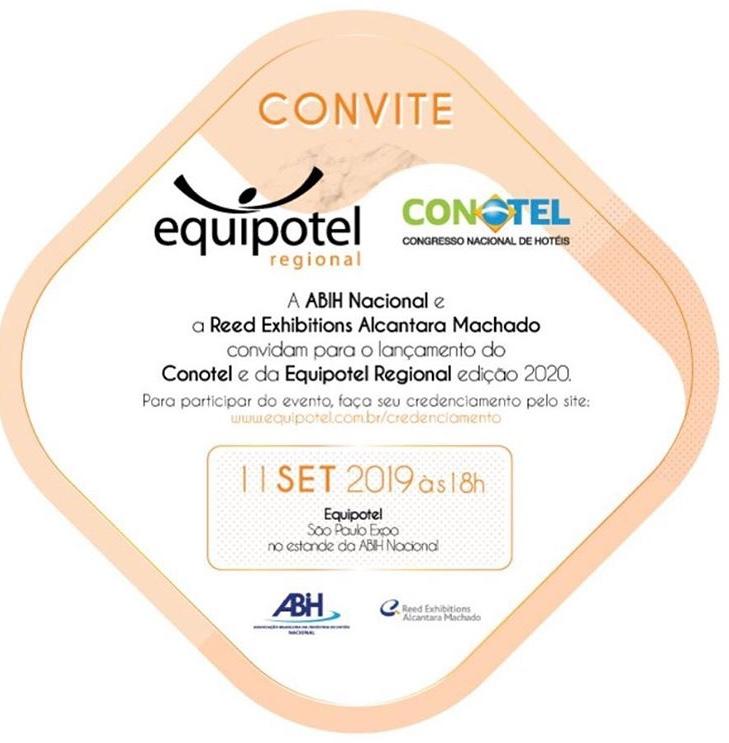 lançamento Conotel 2010 durante a Equipotel 2019 - Imagem