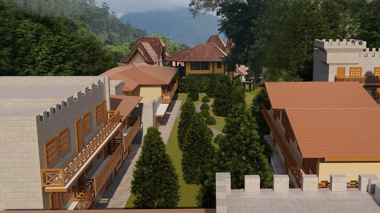 Le Canton - nova ala quartos Hotel Village 04