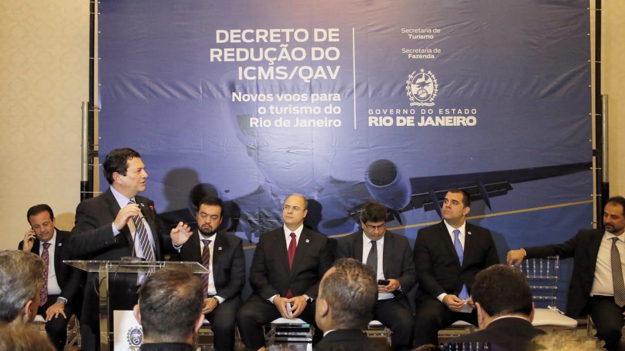 Decreto do ICMS-QAV visa atrair novos voos para o Estado do RJ - 1