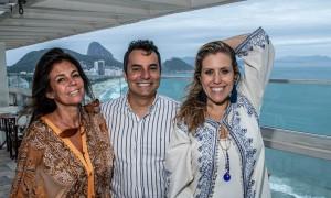 Carla de Brito, Marcelo Moraes e Bruna Barros. Crédito Fotos. Roberto Rangel