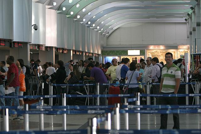 O crescimento da ocupação da rede hoteleira nos meses de Julho e Agosto  Na Foto: Aeroporto Luiz Eduardo Magalhães  Foto: Ronaldo Silva/AGECOM  Data: 05/10/2010
