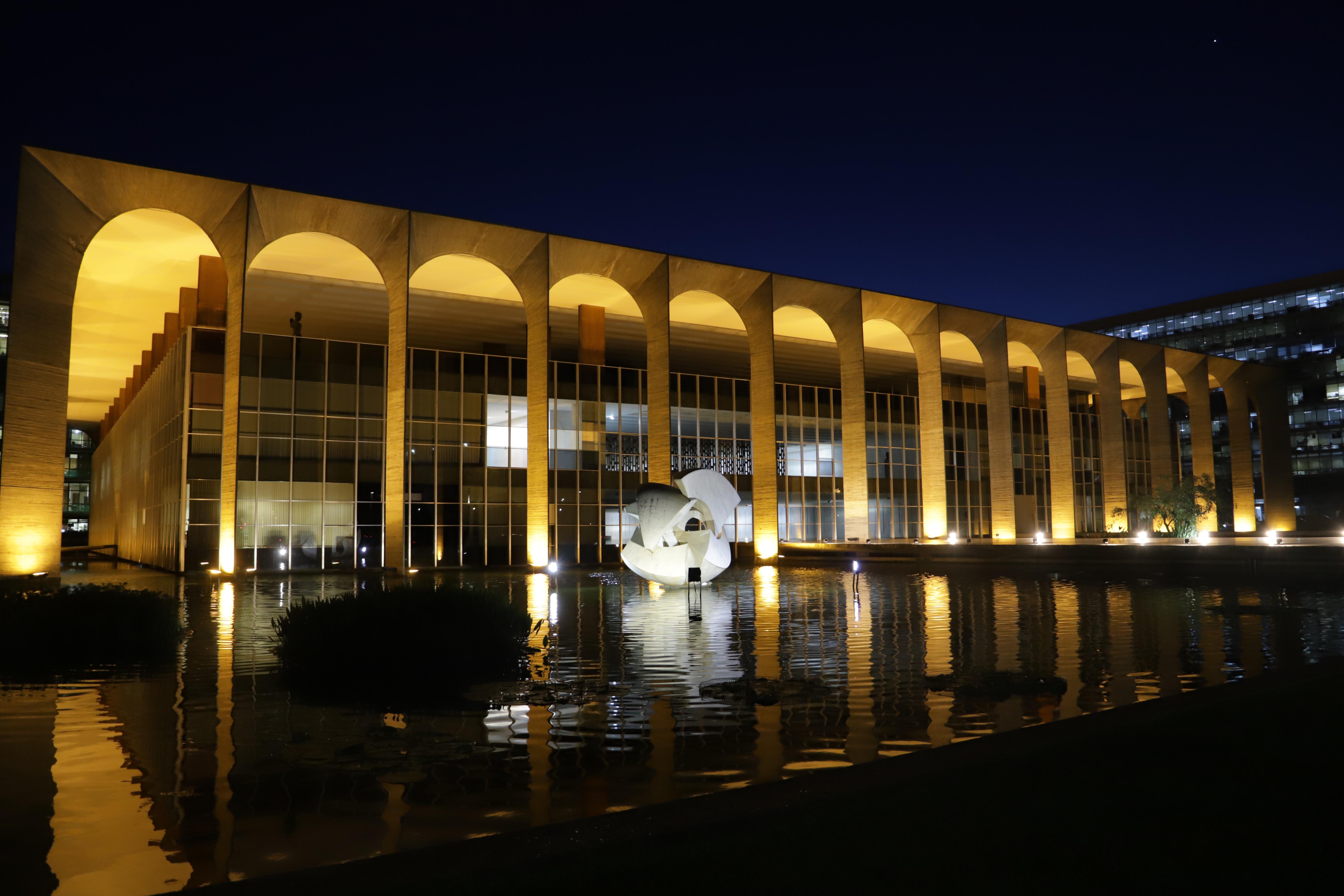Brasília 14/01/2020- Palácio Itamaraty.Foto Luís Tajes/Setur-DF