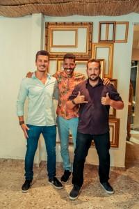 Gilney Wictor Alves da Silva, Romero Brito e Daniel Repula