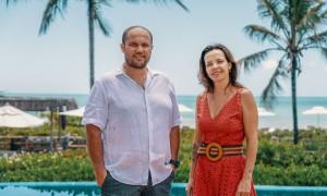 Zé Hélio e Evelyn Gaviolli low