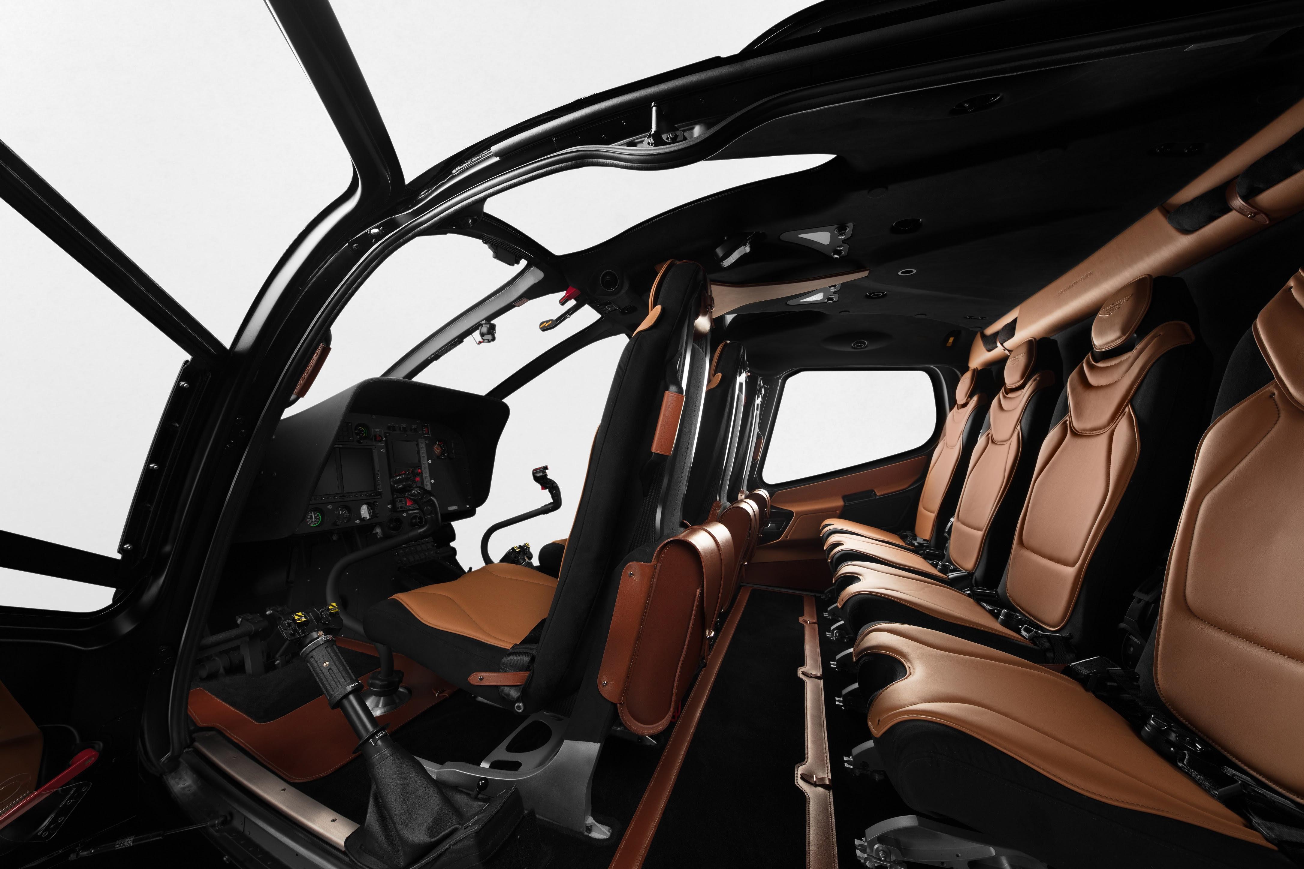 Airbus Helicopters Se Une A Aston Martin Para Lancar Edicao Especial Do Ach130 Voenews
