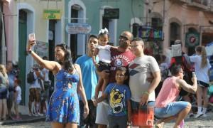 Turistas no Pelourinho_Foto Elói CorrêaGOVBA