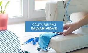 Campanha Costureiras Salvam Vidas