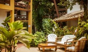Foto Divulgação - As instalações aconchegantes e área de convivencia do Casa Blanca Park Hotel em Porto Seguro BA (2)